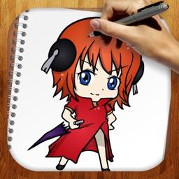 Easy Draw Anime Gintama Edition