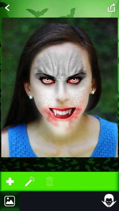 吸血鬼 写真 編集者 - 怖い 顔 チェンジャー 画像 モンタージュ とともに ホラー ステッカー紹介画像5
