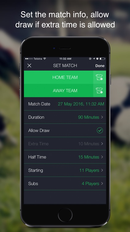 GOREF – Football Referee App for Apple Watch. screenshot-2