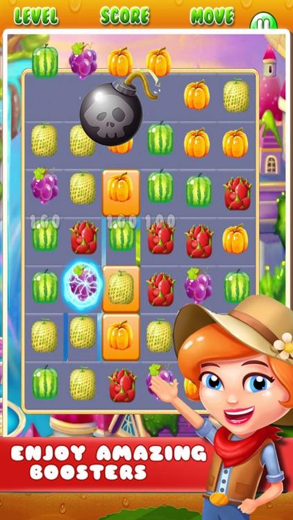 Sugar Fruit: Puzzle Mania Game