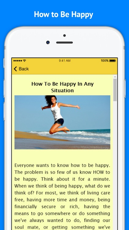 How to Be Happy In Any Situation