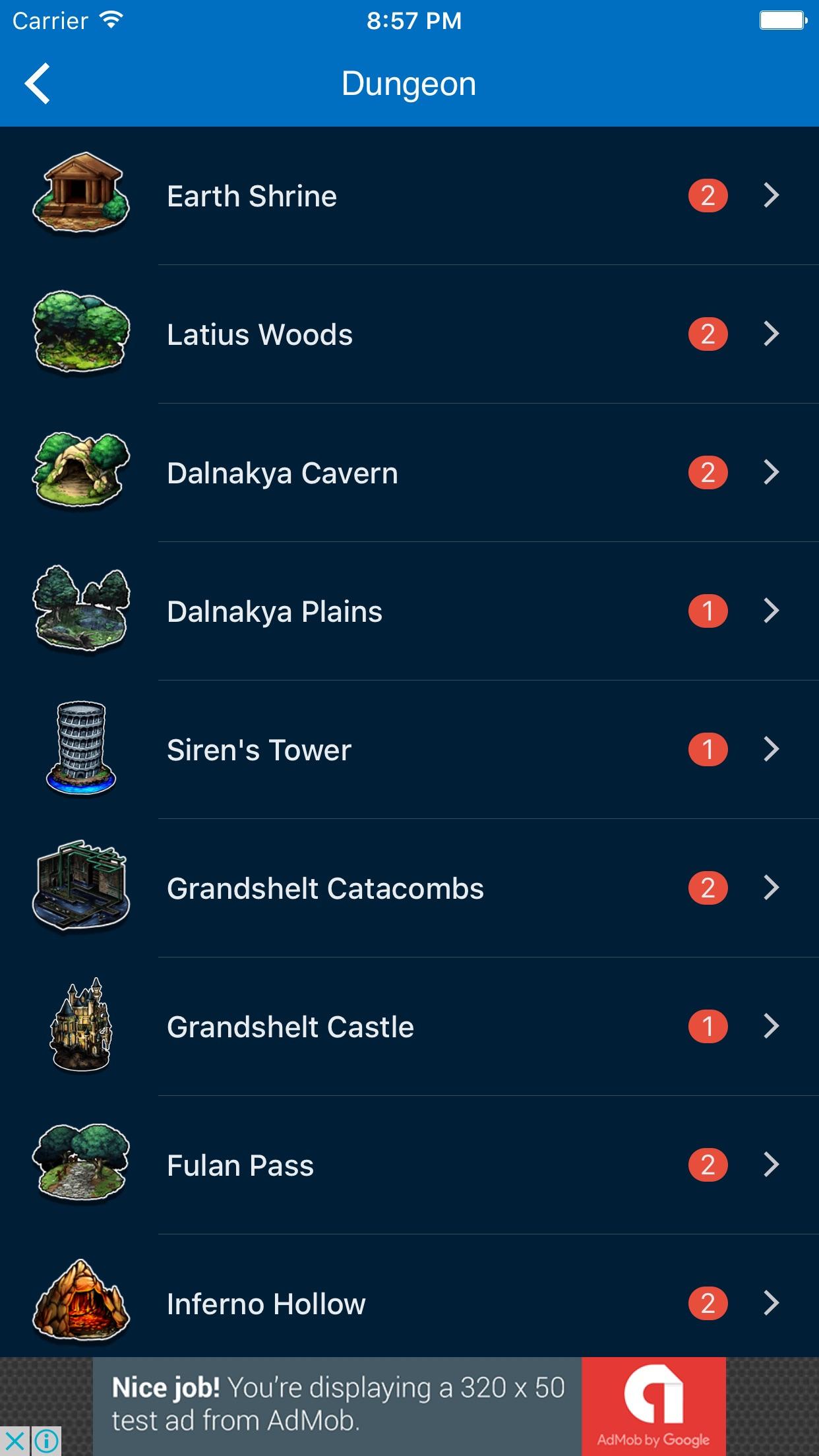 Mini Wiki for FFBE: Final Fantasy Brave Exvius Screenshot