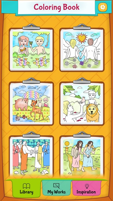 다운로드 Bible Colouring Book Android 용
