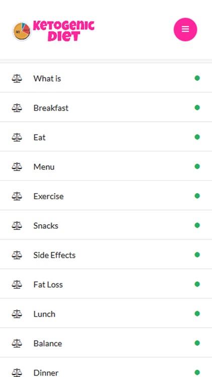 Ketogenic Diet Plan: Guide Recipes screenshot-4