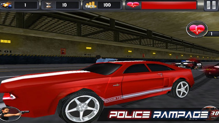 Police Rampage 3D Free ( Car Racing & Shooting Game )