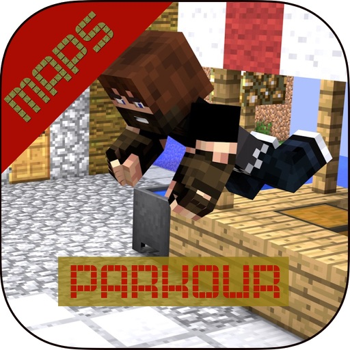 Parkour for Minecraft PE ( Pocket Edition ) + Download Best Maps for Minecraft PE