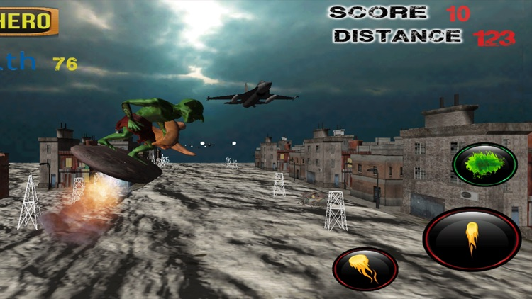 Orc Warrior Army Siege 3D - f22 raptor air to air strategy battle screenshot-2