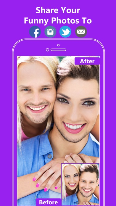Face Swap App- Funny Face Changer Photo Effects app image