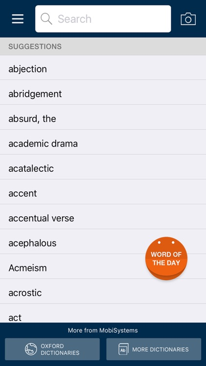 Oxford Dictionary of Literary Terms screenshot-4