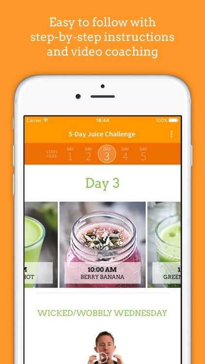 Jason Vale's 5-Day Juice Challenge (5lbs in 5 Days)