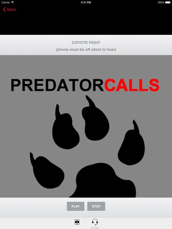 REAL Predator Hunting Calls 40+ HUNTING CALLS! screenshot-0