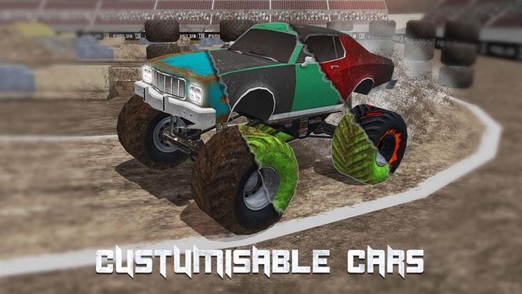 Monster Truck Drag Race screenshot-3
