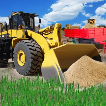 Town Construction Bulldozer - build a city simulation free HD game