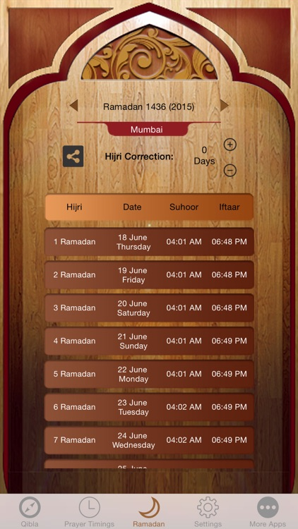 Islamic Qibla - Muslim Prayer Times, Athan Ramadan screenshot-2