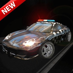 3D Crime Police Chase. Mad City in Crime Car Driving Race Siulator