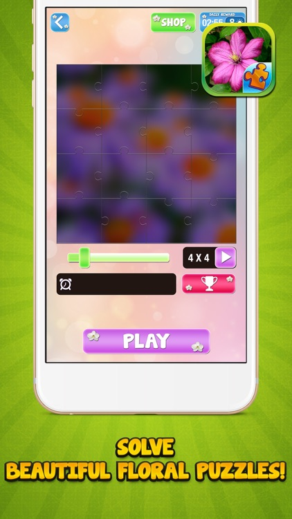 Jigsaw Flower Puzzle – Play Spring Blossom Puzzling Game and Unscramble Floral Pic.s screenshot-4
