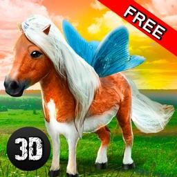 Flying Pony Simulator 3D