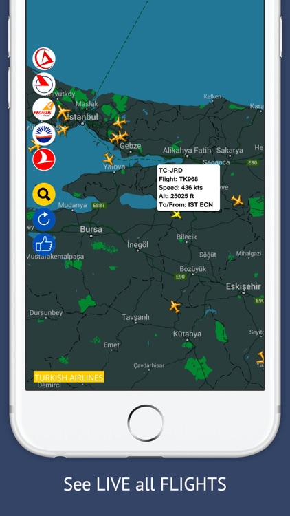 TR Tracker Free : Live Flight Tracking & Status screenshot-1