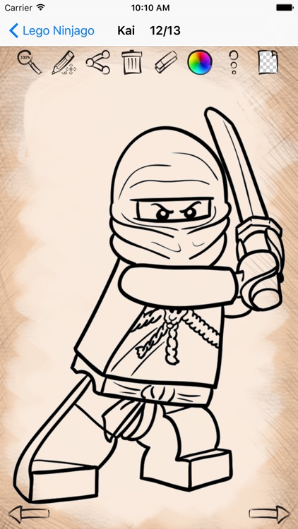 Learn How to Draw Lego Ninjago Edition screenshot-3