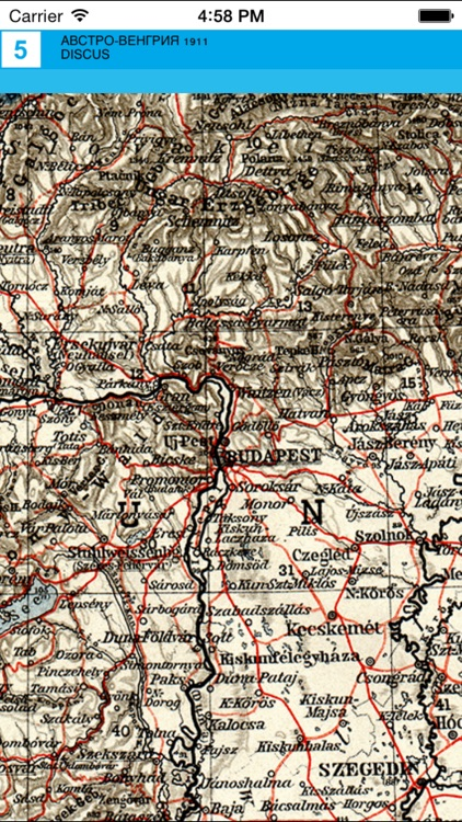 Austria-Hungary (1911). Historical map. screenshot-3