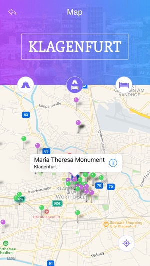 Klagenfurt Tourist Guide on the App Store