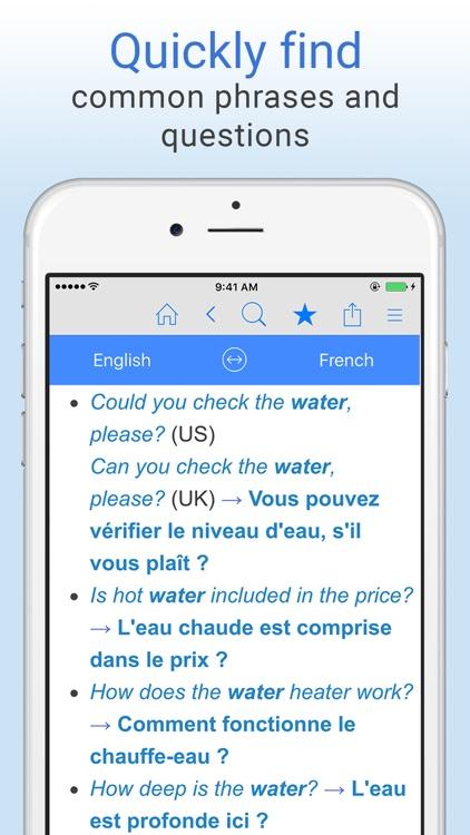 Free English French Translation Online Dictionary Translator