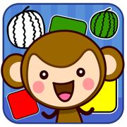 皮皮猴认颜色 - 儿童游戏免费2岁-6岁、宝宝游戏免费巴士大全