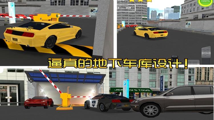 停车大师3D:地下停车场
