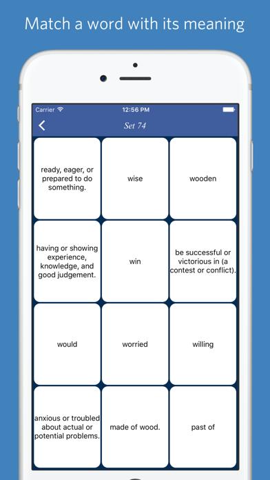 Mastering Oxford 3000 word list - quiz, flashcard and match gameのおすすめ画像4