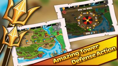 Olympus Defense TD. Fury Rome Gods Rising In Divine Dawn Strategy screenshot four
