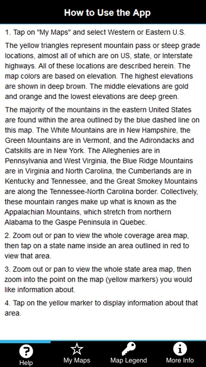 Mountain Directory East