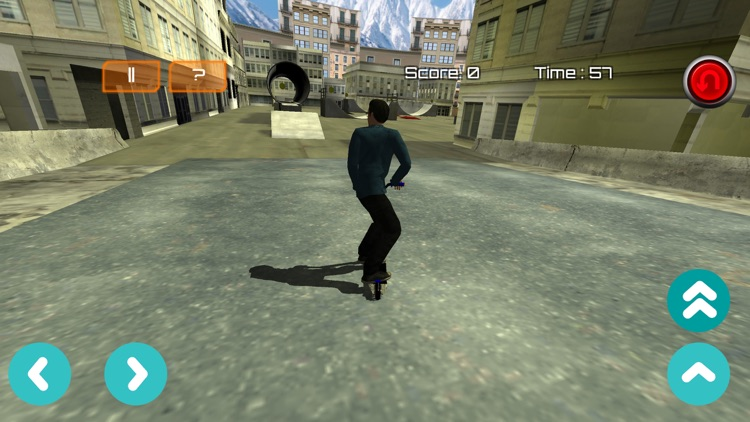 Freestyle Scooter - Scootering Game screenshot-2
