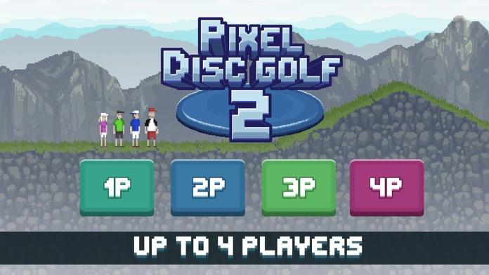 Pixel Disc Golf 2 Screenshot