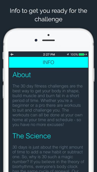 30 Day - Squat Challengeのおすすめ画像5