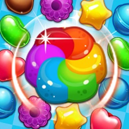 Sweet Candy Garden ManiaMatch 3 Free Game by Qiu Dapeng