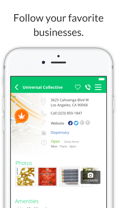 Where's Weed Marijuana Strains & Dispensary Maps screenshot four