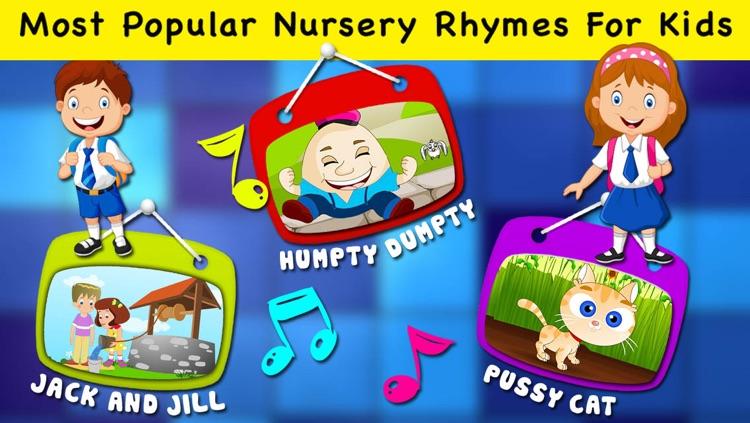 Popular Nursery Rhymes & Songs For Preschool Kids & Toddlers