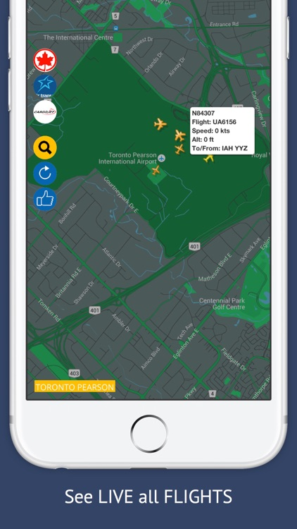CA Tracker Free : Live Flight Tracking & Status