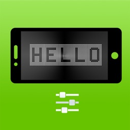 LED Text - gorgeous banner LED/LCD message display app