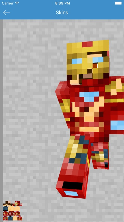 Iron Skins for Minecraft - All Hero App