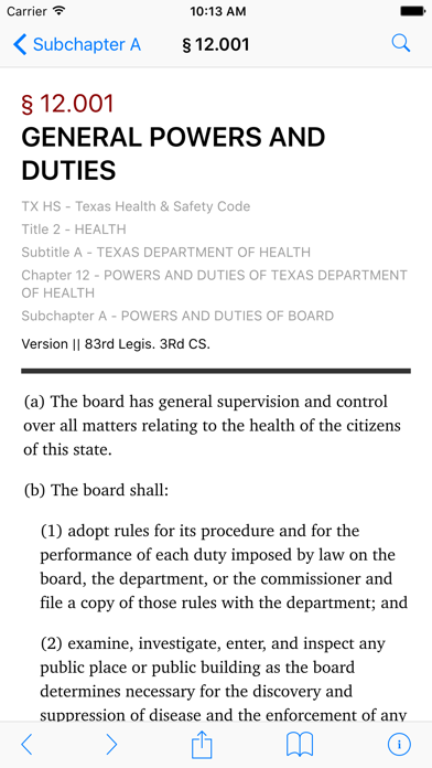 Texas Health and Safety Code (LawStack's TX Law/Statutes