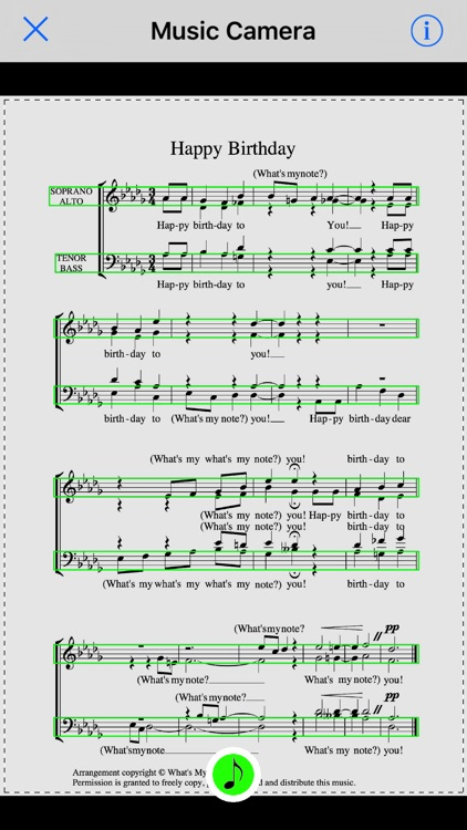 What's My Note? - Scan & hear your sheet music