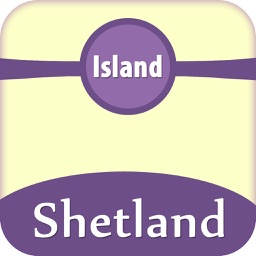 Shetland Islands Offline Map Travel Guide
