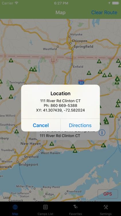 Connecticut – Camping & RV spots. screenshot-3