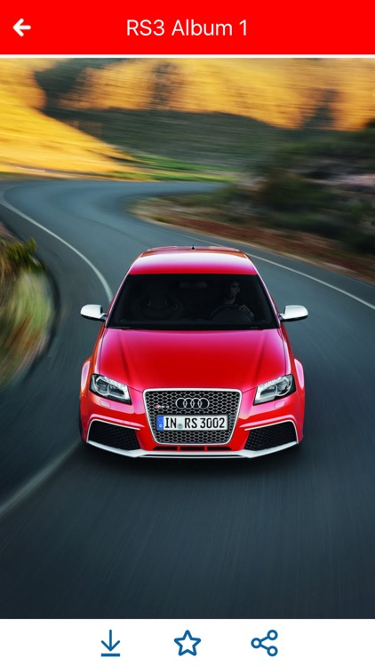 HD Car Wallpapers - Audi RS3 Edition screenshot-4