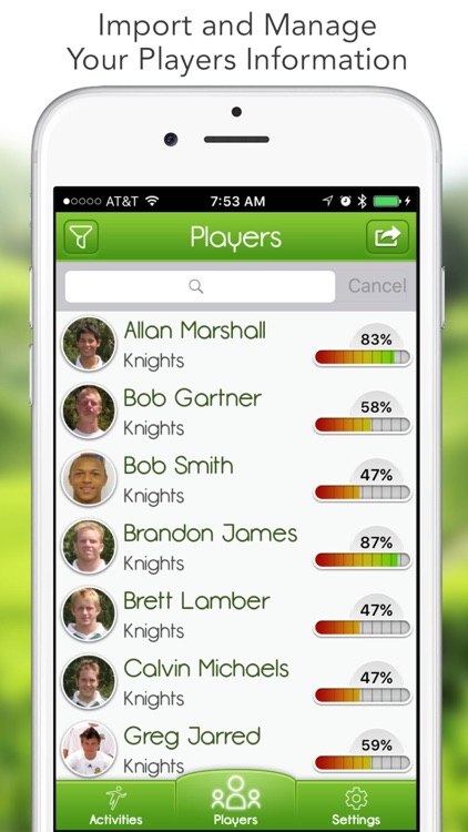 iGrade for Football Coach screenshot-0