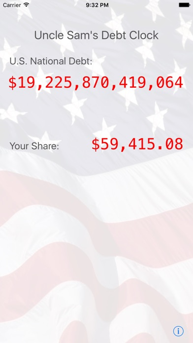 Uncle Sams Debt Clock review screenshots