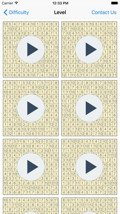 Hitori Puzzlesのおすすめ画像2
