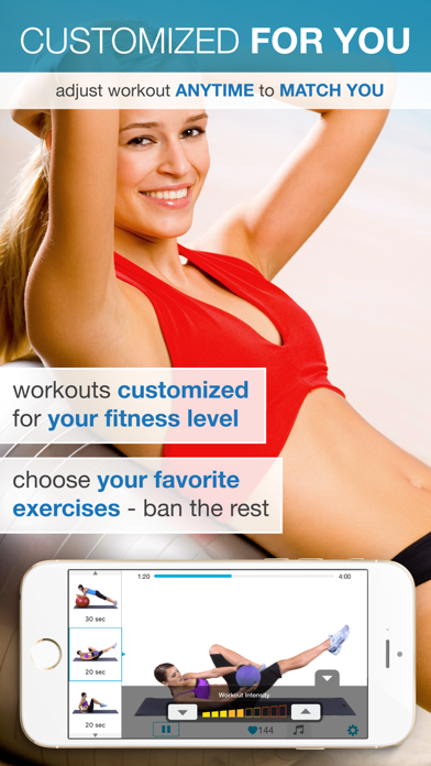 Easy Ab Workouts Free - Flatten and Tone Your Stomach and Back Fatのおすすめ画像2