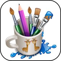 Scrabble Art Pad - Coloring Book & Drawing Pad for Kids